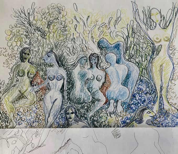 Første Tegne Version Af Den Mosaik, Som Siges At Ligge Skjult Under Hotel Silence. Tegn En Bog Version Af Audur Ava Olafsdottirs Bog Med Titlen 'Ar'