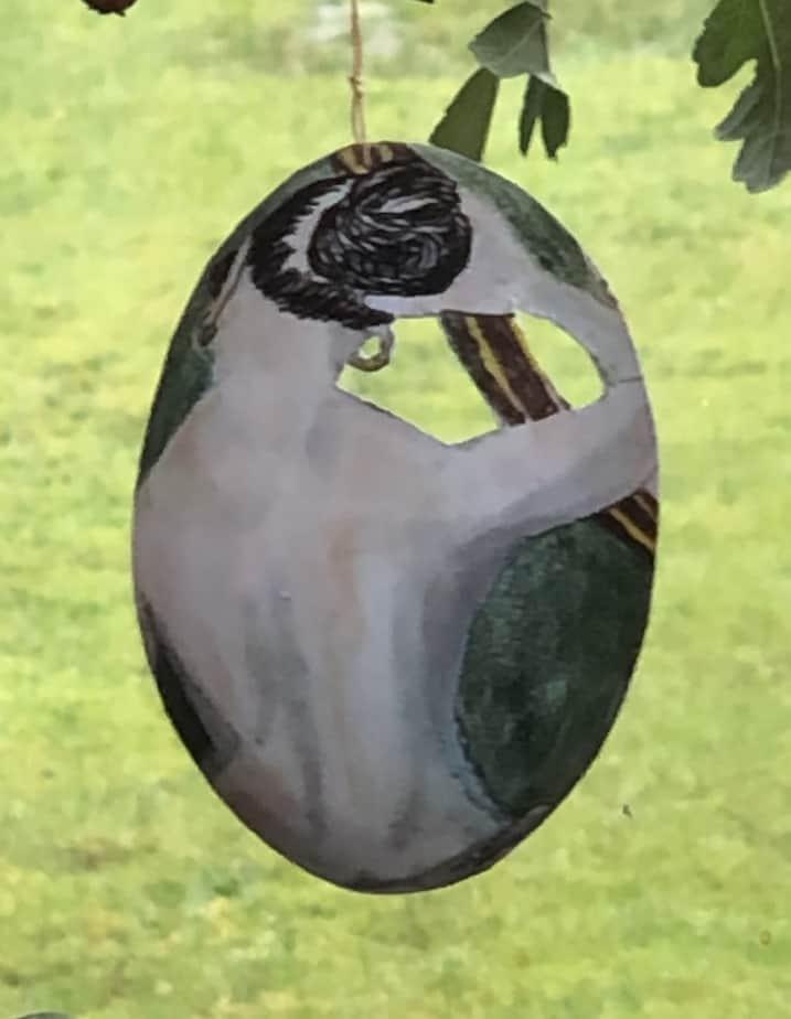 Kvinde Med Spejl
