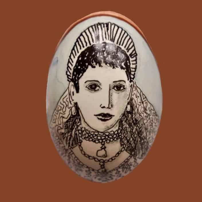 Maria Fjodorovna Med Diadem