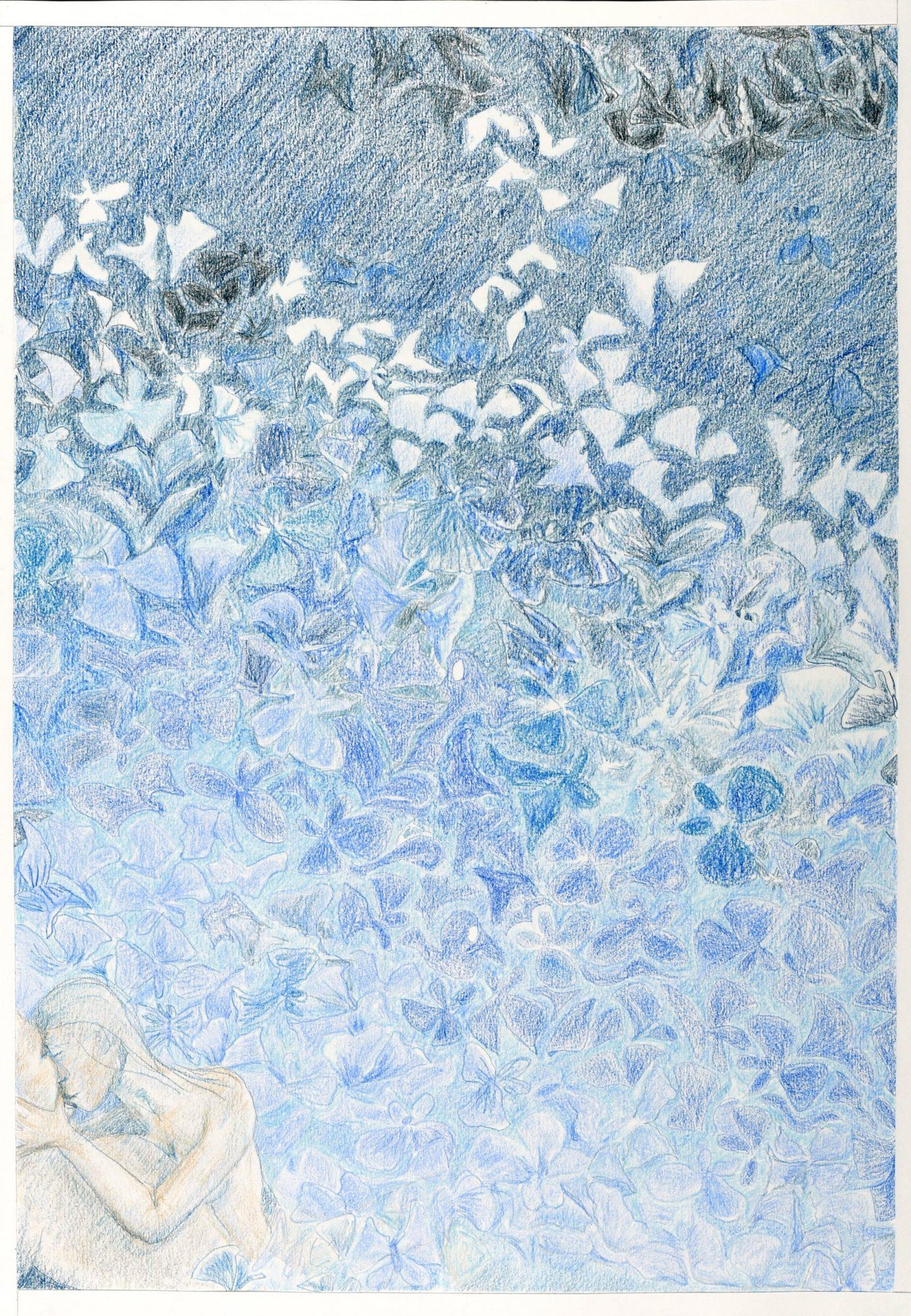 Sommerfugledalen, tegning af syvende sonet