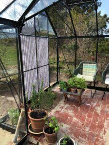 Solafskærmning i drivhus